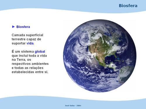 Resultado de imagen de a biosfera